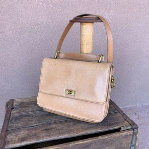 J Crew Vintage Tan Leather Purse/Handbag